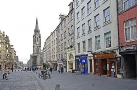 Royal Mile view