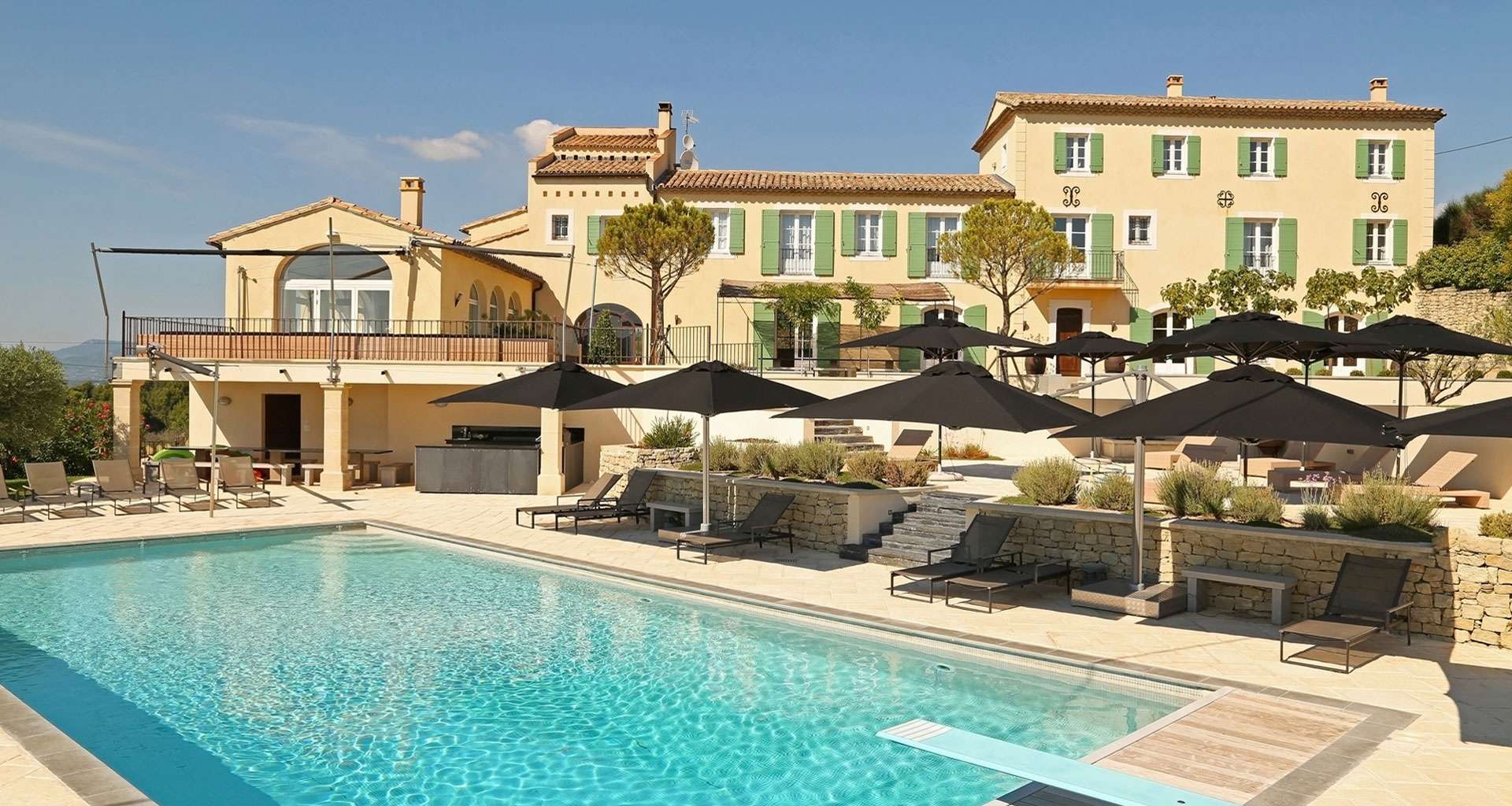 Luxury rentals Provence South France