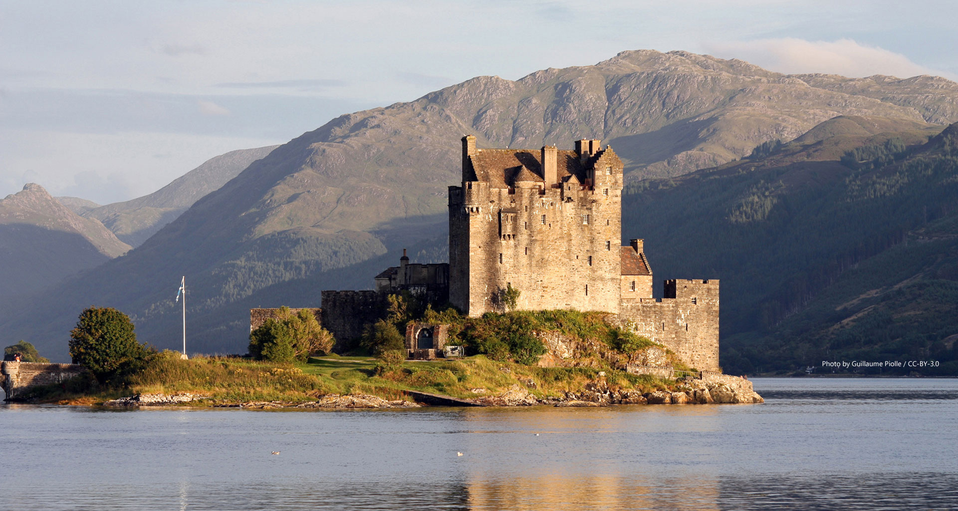 castle cottage vacation rental Scotland